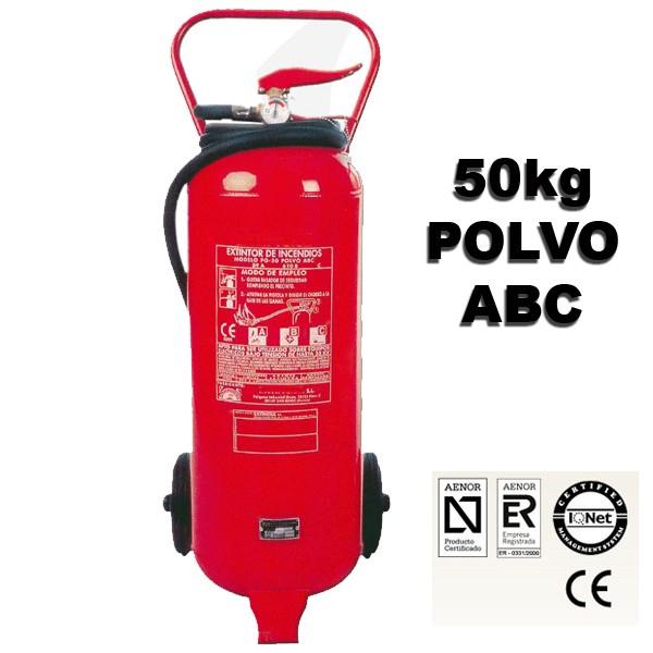 extintor de polvo abc 50kg